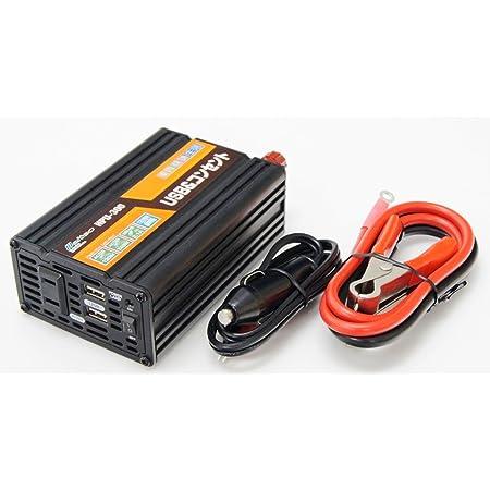 メルテック インバーター 2way(USB&コンセント) DC12V(ソケット クリップ) 240W Meltec HPU-300