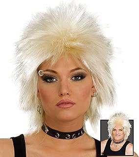 Bristol Novelty BW692 80's Rock Idol Wig, Blonde, One Size
