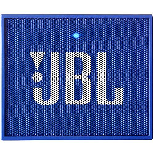 JBL Go + Tragbarer Bluetooth-Lautsprecher, blau