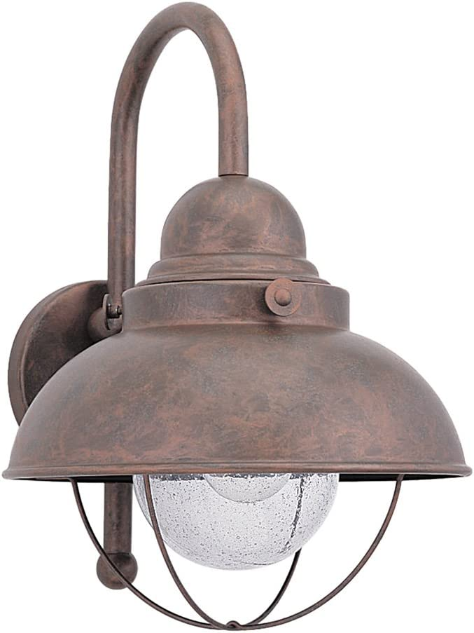 Sale Be super welcome price Sea Gull Lighting 8871-44 Sebring One-Light Lantern Outdoor Wall