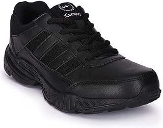 Campus School Shoes Boys Black Laces
