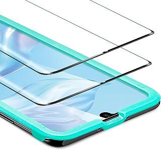 ESR [2-Pack] Screen Protector for Huawei P30 Pro, Tempered-Glass Screen Protector [3D + Maximum Protection] [Full Screen C...