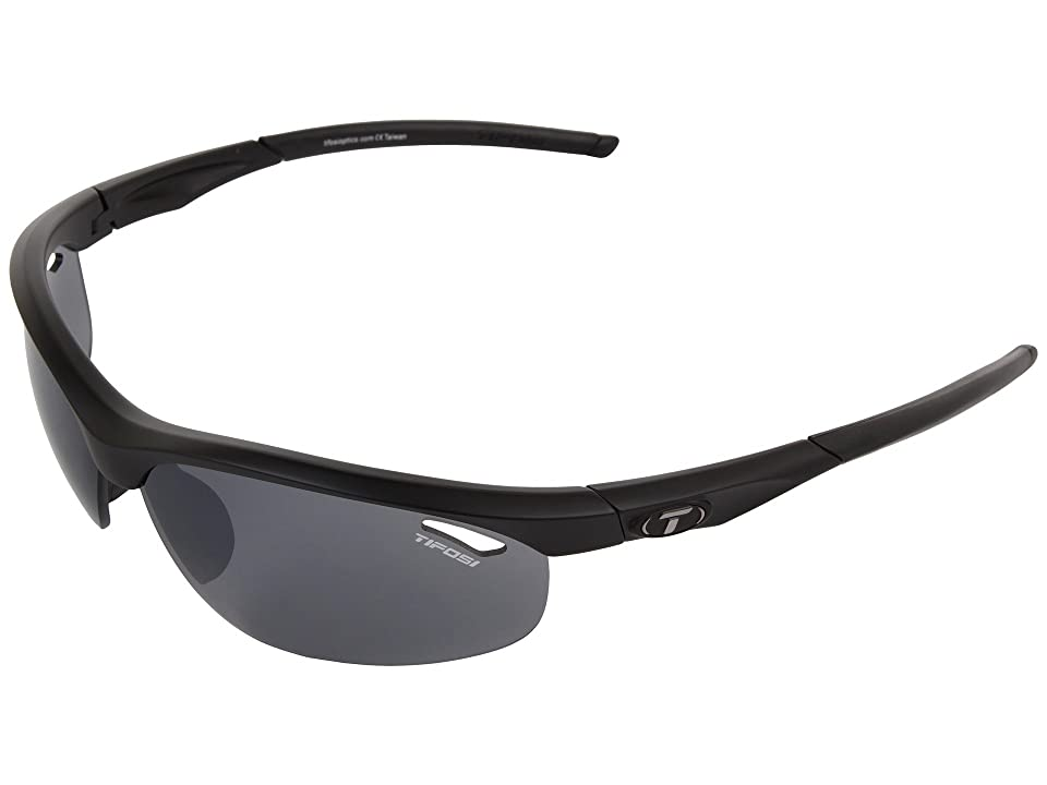 Tifosi Optics Velocetm Golf Interchangeable (Matte Black/Smoke/GT/EC Lens) Sport Sunglasses