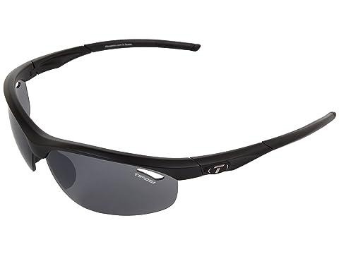 Tifosi Optics Veloce Golf Interchangeable Matte Black/Smoke/GT/EC Lens Running Sunglasses 8113199