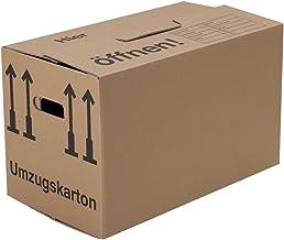 BB-Verpackungen 10 x Umzugskarton Profi 600 x 328 x 340 mm stabil 2-wellig aus recycelter Pappe