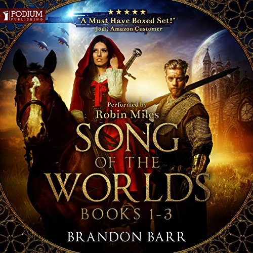 Song of the Worlds, Books 1-3 cover art