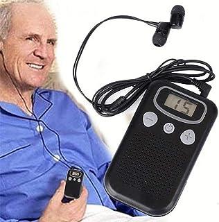 Portable Voice Amplifier,Display Hearing Aids,Pocket Sound Voice Enhancer Device,Elderly Hearing Megaphone Sound Intensifier