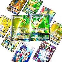 カード ポケモンカード GX.カードシャイニングカードV VMAXタグ 元メガゲームバトルカルテトレーディング子供ギフト おもちゃ (Color : 100(60EX 20GX 20MEGA))