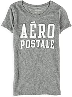 Aeropostale Womens Stacked Embellished T-Shirt