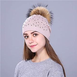 Capelli invernale lana PON PON pelliccia Cerchietti Fascia per Capelli Ragazze Accessori Moda Donna