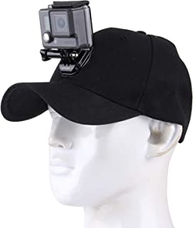 Funadd Outdoor Sun Hat Topi Baseball Cap with Camera Stand Holder Mount for GoPro & SJCAM & Xiaomi Xiaoyi Sport Action Cam...