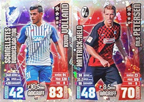 Match Attax Bundesliga 2015 2016 - Hattrick-Held und Schnellstes Bundesliga Tor - Deutsche Ausgabe