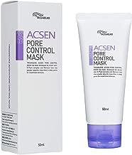 TROIAREUKE ACSEN Pore Control Mask 1.69 Fluid Ounce - Face Blackhead Peel Off Remover Pore Minimizer Exfoliating Clay Masks for Acne Sensitive Skin