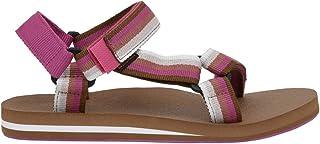 CUSHIONAIRE Women's Summer Yoga Mat Sandal with +Comfort Brown Multi, 6