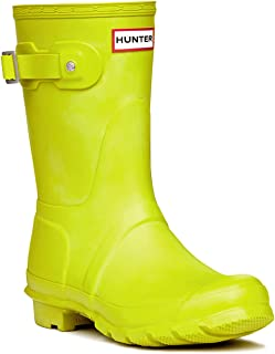 yellow chartreuse hunter boots