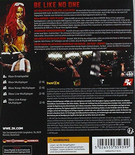 WWE 2K18 - Standard Edition - [Xbox One]