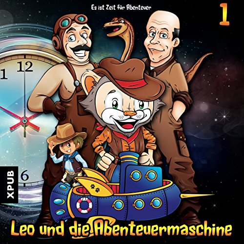 Es ist Zeit für Abenteuer     Leo und die Abenteuermaschine 1              By:                                                                                                                                 Matthias Arnold,                                                                                        Simone Döring                               Narrated by:                                                                                                                                 Irina von Bentheim,                                                                                        Charles Rettinghaus,                                                                                        Katrin Zierof,                   and others                 Length: 1 hr and 15 mins     Not rated yet     Overall 0.0