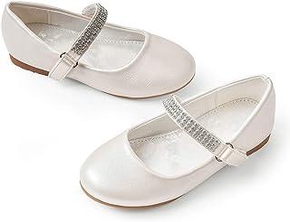 Mary Jane School Dress Shoes Slip-on Party Dress Flat...