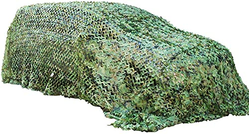 HCYTPL Filet de Camouflage - Filet de Camouflage en Tissu Oxford pour Pare-Soleil, Camping de Loisir, Bars - Vert,4  10m