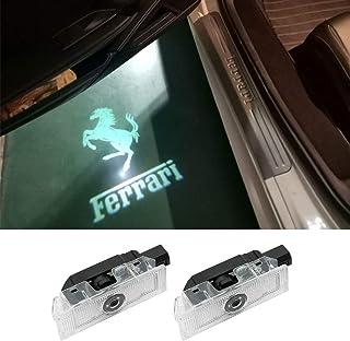Easy Installation Car Door LED Logo Projector Welcome Lights For Ferrari