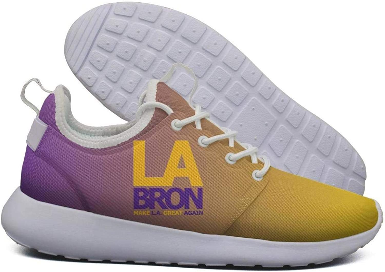 Womens Roshe Two Lightweight La-bron_Make_LA_Great_Again Soft Running Sneakers mesh shoes