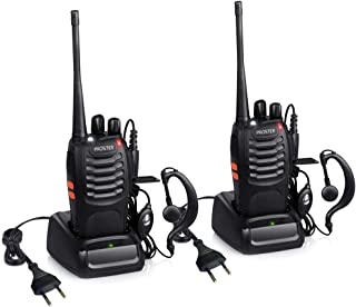 Proster Walkie Talkie Recargables 16 Canales Walkies Profeci