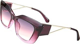 نظارات شمسية نسائية من FEISEDY مربعة سميكة من عين القطة للرجال ARIZONA DREAM معدني معبد B2710