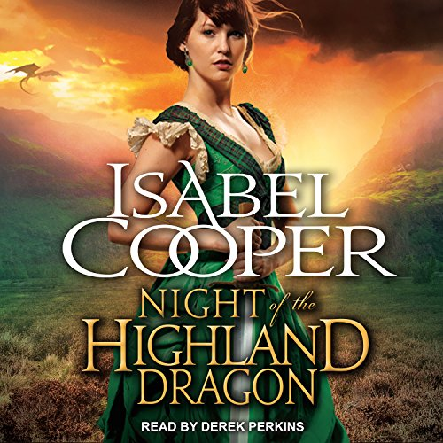 Couverture de Night of the Highland Dragon