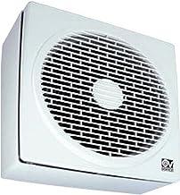 Vortice Afvoerventilator, omkeerbaar, 480 m3/h luchtvermogen, venster-/wandmontage, 12452 Vario 230/9 AR