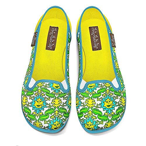 Hot Chocolate Design Chocolaticas Pantry Women's Slip-On Fashion Sneaker Flat Multicoloured HCD 39