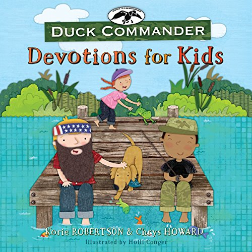 Duck Commander Devotions for Kids audiobook cover art
