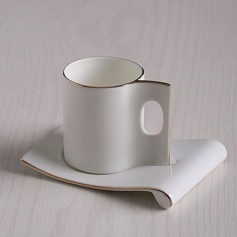 Ensemble de tasse à café en porcelaine de style européen en porcelaine