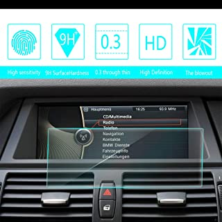 for BMW X5 X6 2008 2009 2010 2011 2012 2013 8.8-Inch 20979mm Car Screen Tempered Film Navigation Screen Protector HD Clear 9H Hardness Anti-Fingerprint Anti-Scratch