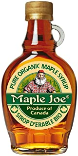 Maple Joe Syrup Organic, Glass Jar, 250 gm (Pack of 1)