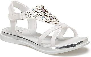 ORVA Beyaz Kız Çocuk Sandalet