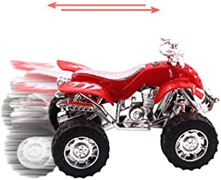 Elevin(TM)👍👍 Beach Motorcycle Toy Pull Back Diecast Motorcycle Early Model Educational Toy
