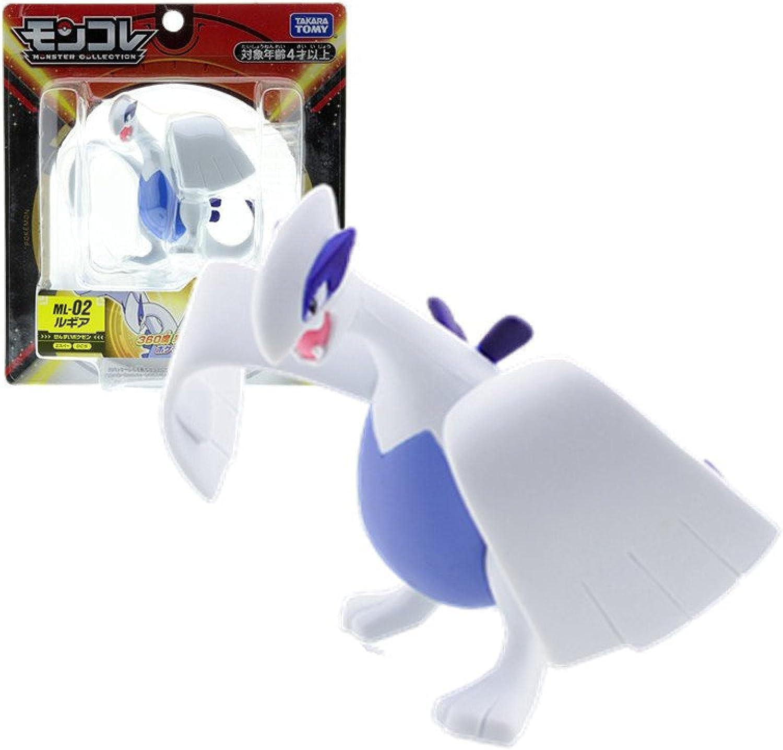 Pokemon Free Shipping New Anime Figure Moncolle-Ex Ehp overseas 18 PV 9Cm Lugia Model Toys