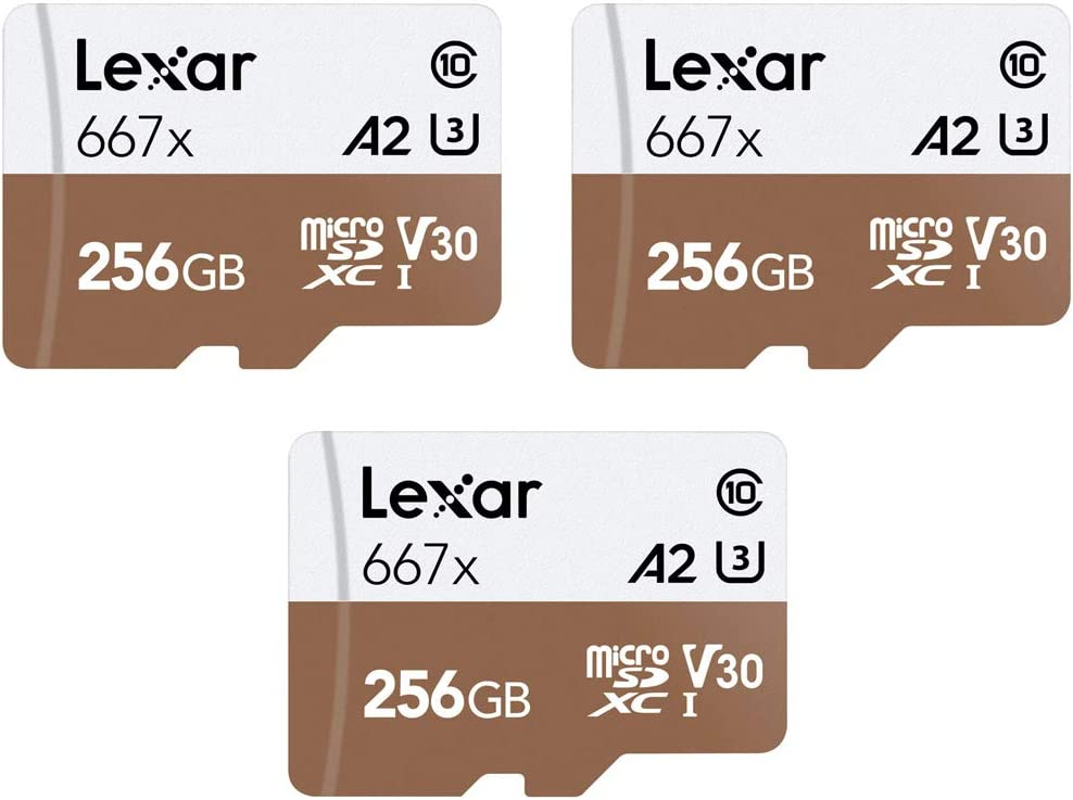 Fresno Directly managed store Mall Lexar LSDMI256BNA667A High-Performance 667x microSDHC microSDXC