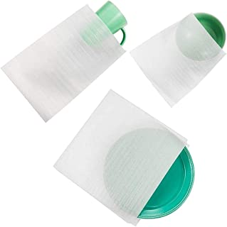 60 Cushion Foam Pouches, Moving Foam Wrap Pouches, Protect Mug, Cup, Glasses, China, and Dishes, Packing Supplies, Packing Cushioning Supplies for Moving