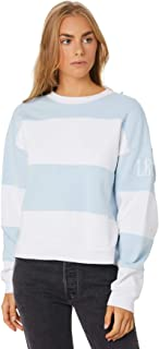 Levi's Women's Cb Diana Crew Haley Baby Crew Neck Long Sleeve Cotton Polyester