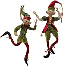 "30"" Posable Elf from RAZ Imports - Set of 2"