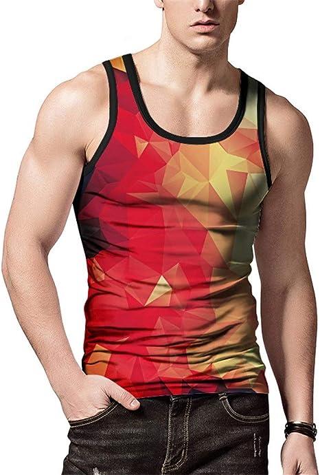 Hombres camiseta de tirantes de verano Chaleco sin mangas con ...