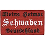 AUFNÄHER - Schwaben - 00071 - ca. 9,5 x 6,5 cm - Patches Stick Applikation1 - Gr.