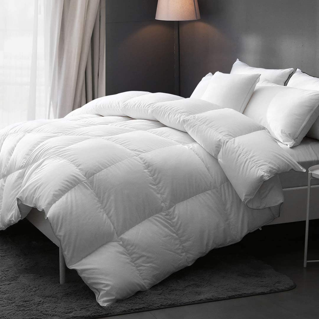 DWR Goose Down Comforter Full Queen Pima Qui Cotton - Seattle Mall New item Ultra-Soft