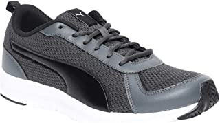 Puma Men's Flexracer 19 Idp Dark Shadow Black Walking Shoes