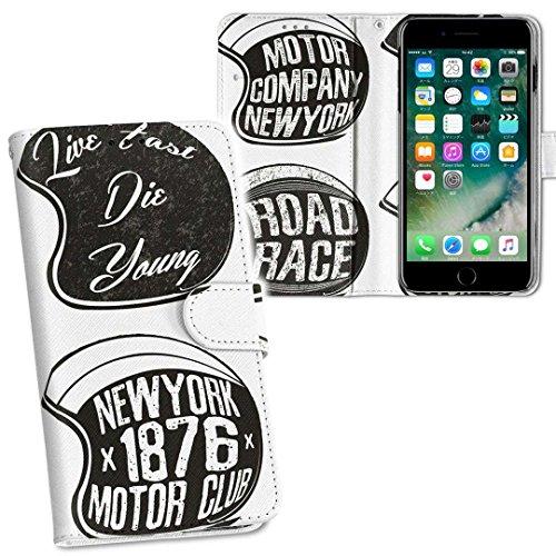 igcase iphone7 アイフォーンAPPLE APPLEsoftbank 専用ケース 手帳型 スマホカバー 両面プリント iphone7 ケース カバー レザー ケース 手帳タイプ フリップ ダイアリー 二つ折り 革 フルデザイン 013774 英