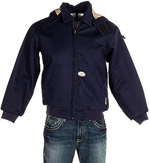 Mens Rasco Navy Duck FR Work Jacket