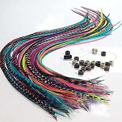 Feather Hair Extensions 100%