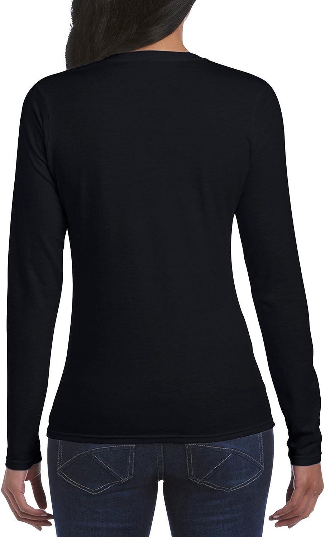 Gildan Women's Softstyle Long Sleeve T-Shirt, 2-Pack