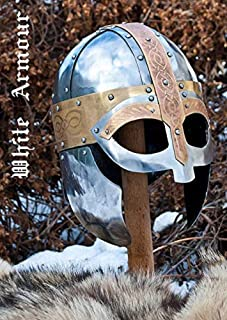 viking vendel helmet